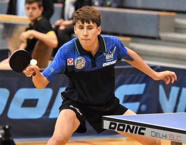 Andreas Levenko wird beim Heimspiel der Badener Tischtennisherren am 20. November in der Sporthalle zu bewundern sein. Ab 18 Uhr.