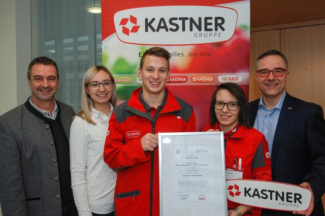 Mag. Herwig Gruber, Christina Draxler MA, Jürgen Wagner, Sandra Pixa, Christof Kastner (v.l.).