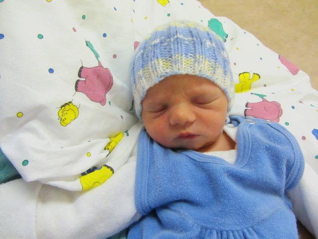 Luka Kainz, Geboren: 10. November 2017, Uhrzeit: 4:33 Uhr, Größe: 51 cm, Gewicht: 2.840 g, Wohnort: Stetteldorf