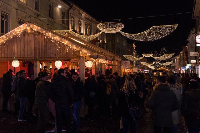 Der gut besuchte Villacher Advent