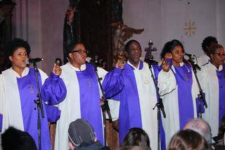 """Die """"Golden Voices of Gospel"""" waren schon im Vorjahr in der Voitsberger Josefskirche zu Gast."""