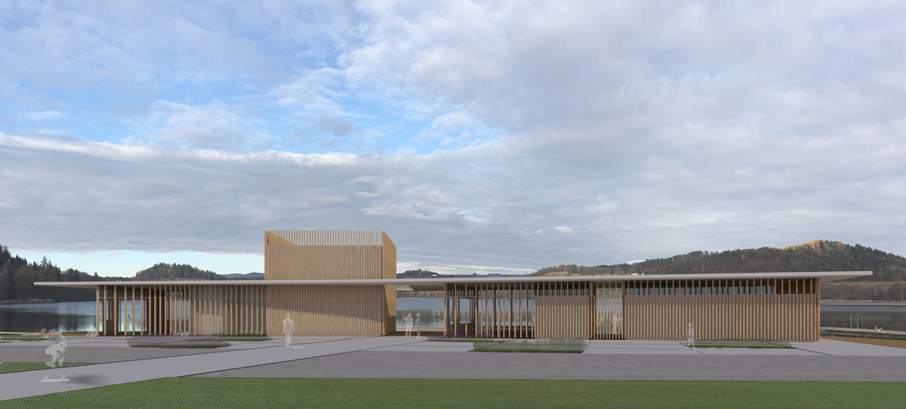 So wird das neue Strandbad am Längsee aussehen