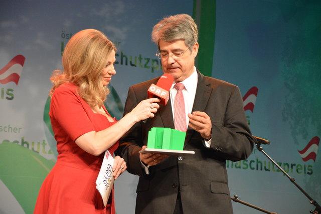 Beim Klimaschutzpreis 2017 verkündete Siemens Österreich-Chef Wolfgang Hesoun noch Nachhaltigskeitsprojekte. Wenige Tage später hatte er für seine Mitarbeiter weniger gute Botschaften zu verkünden.