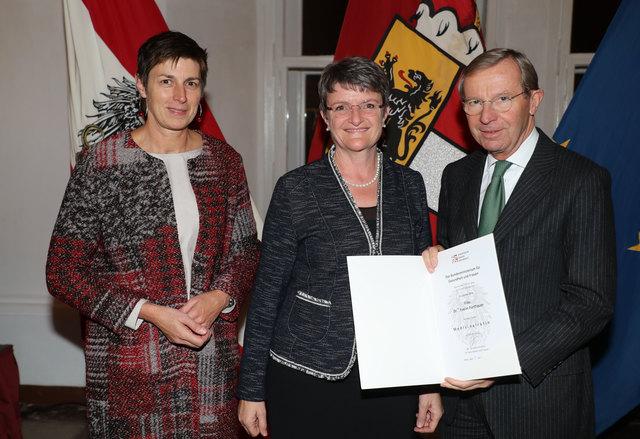 Den Berufstitel Medizinalrätin erhielten Evelin Fürthauer aus Pfarrwerfen.