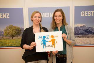 Initiatorin und Projektleiterin Evelyn Müller (l.) und Monika Reindl-Sint vom Freiwilligenzentrum Osttirol.