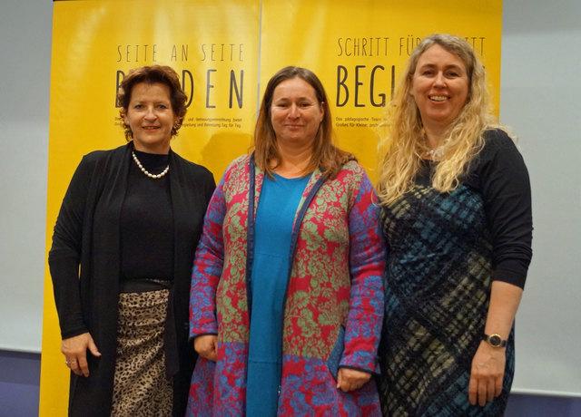 V.l.: Ursula Lackner, Sabine Cafuta, Catherine Walter-Laager.