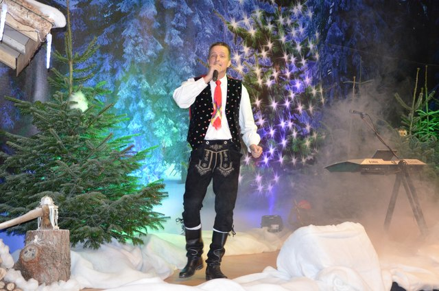 Reinhard P. tritt als Kastelruther Spatzen-Double auf.