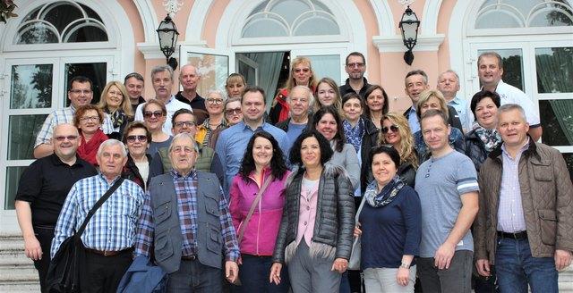 34 Teilnehmer waren beim Herbstausflug mit dabei.