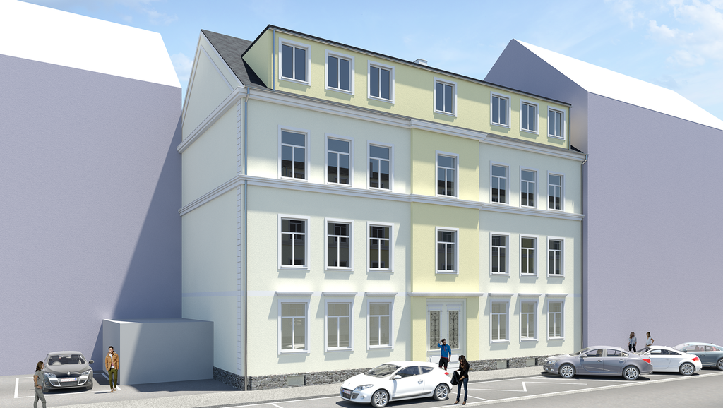 Neu: So wird das Gebäude nach dem Umbau aussehen. Foto: Silver Living