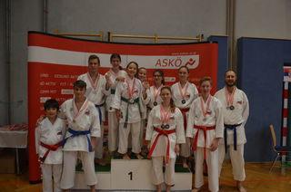 Medaillen-Regen für die Karateka aus Altmünster