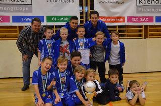 Die Nachwuchsfußballer sind von 24. bis 26. November in der Heidinger-Sporthalle im Einsatz.