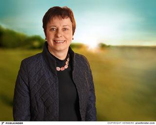 SPÖ-Bezirksvorsitzende, Bettina Lancaster aus Steinbach am Ziehberg.