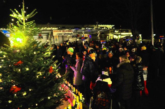 Beim 21. Axamer Adventmarkt wartet wieder ein volles Programm auf alle Besucher.