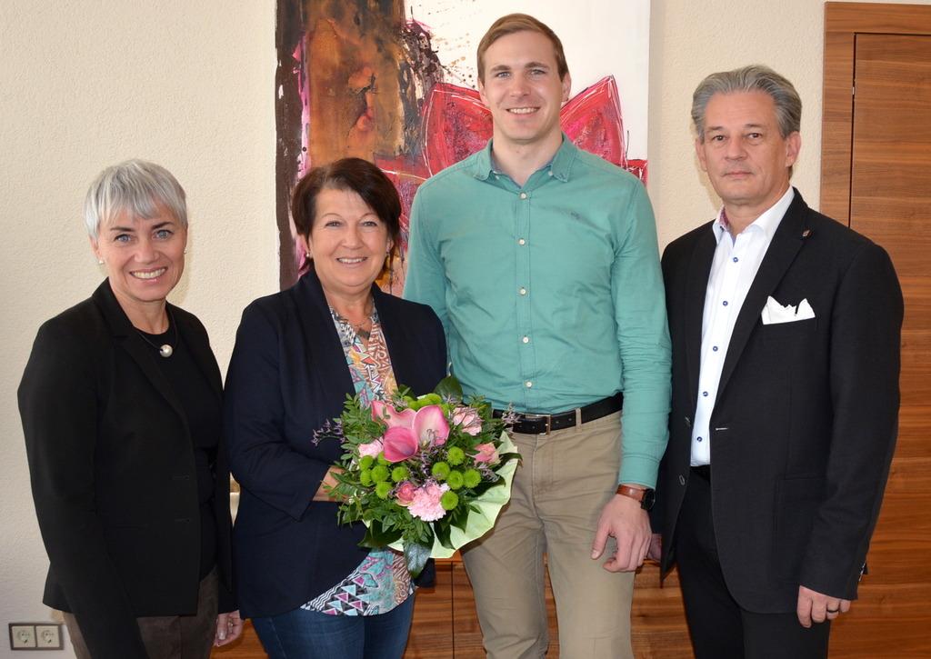 Doris Margreiter, Waltraud Nigl, Florian Feichtinger und Peter Groiß (v.l.).
