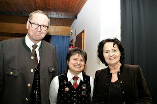 Josef Hirm, Rosina Glawar, Irmgard Dreier (vl.)