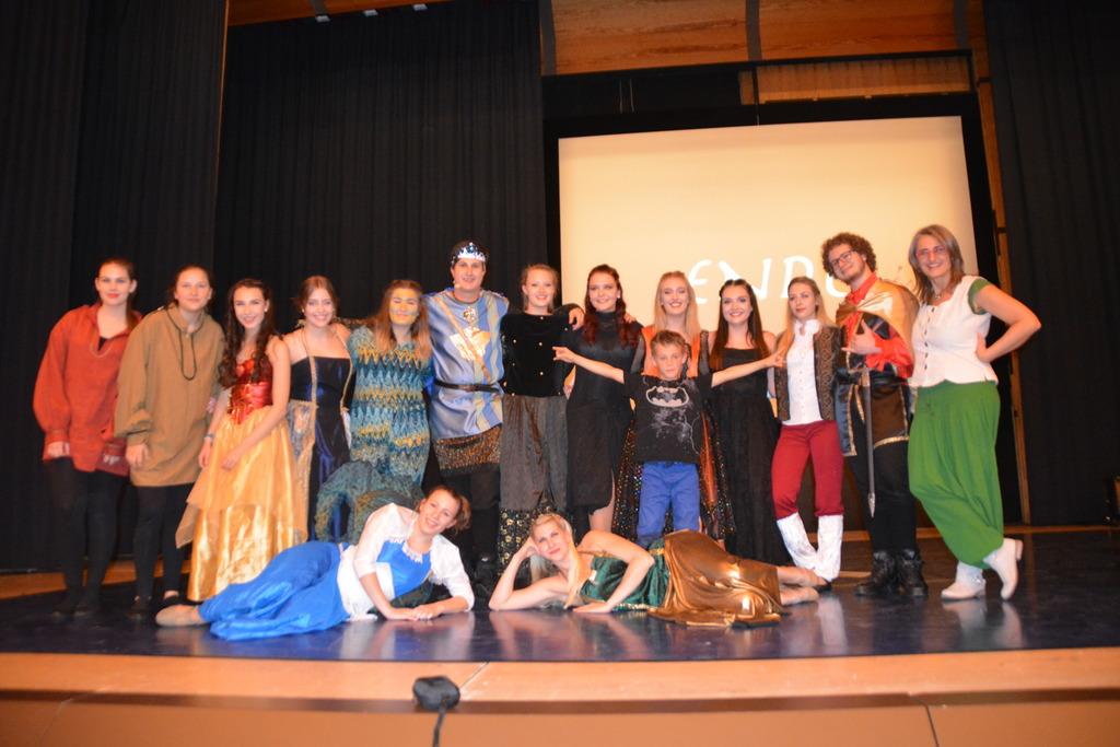 Die Musical Company Pinkafeld bot wieder eine sehr gelungene Show - diesmal mit einem Fantasy Musical.