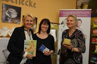 Nah&Frisch-Chefin Christine Gschwendtner aus Werfenweng (Mi.) mit den Magnetix-Beraterinnen Sandra Gruber aus Goldegg (li.) und Petra Kudrno aus Obertrum (re.).
