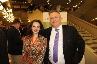 Svetlana Porta und Bernd Oberhofer (Obmann Life Award)