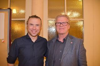 Tobias Breitschädel (links) und Alois Hemetsberger.