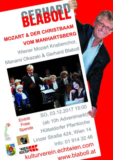 Mozart und der Christbaam vom Manhartsberg - Blaboll, Mozart Knabenchor, Okazaki
