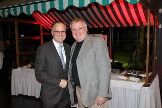 CMI-Chef Christian Mayerhofer, Karl Ischia (Ischia Fruchtimport)