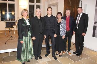 Hannelore Mascher, Gerald Kraxberger, David Lehner, Vbgm.in Renate Heitz, Obmann Peter Aigner, Bgm. Manfred Baumberger.