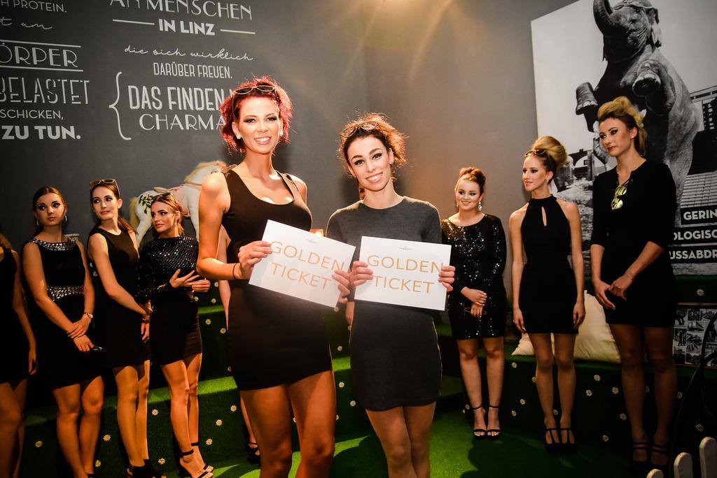 Domenica Ferkova und Sarah Grabner sicherten sich über das Golden Ticket den Weg ins Finale.