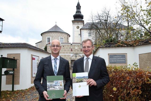Von links: Markus Ladendorfer, Thomas Stelzer.