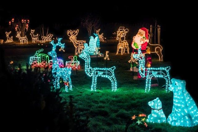 Packen Sie die Sonnenbrille ein! Wir Waldviertler lieben ausufernden Weihnachtsschmuck!