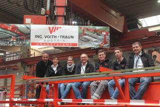 Das Team von Voith zeigte sich zufrieden mit der Veranstaltung. Eine Wiederholung ist bereits in Planung.