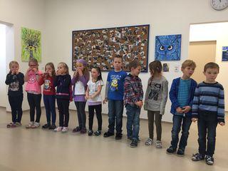 Kreatives Schaffen an der Volksschule Miesenbach – und eine erfolgreiche erste Vernissage.