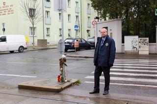Anton Mandl (SPÖ) wird am 14. Dezember einen Antrag auf eine Ampelregelung an der Kreuzung stellen.