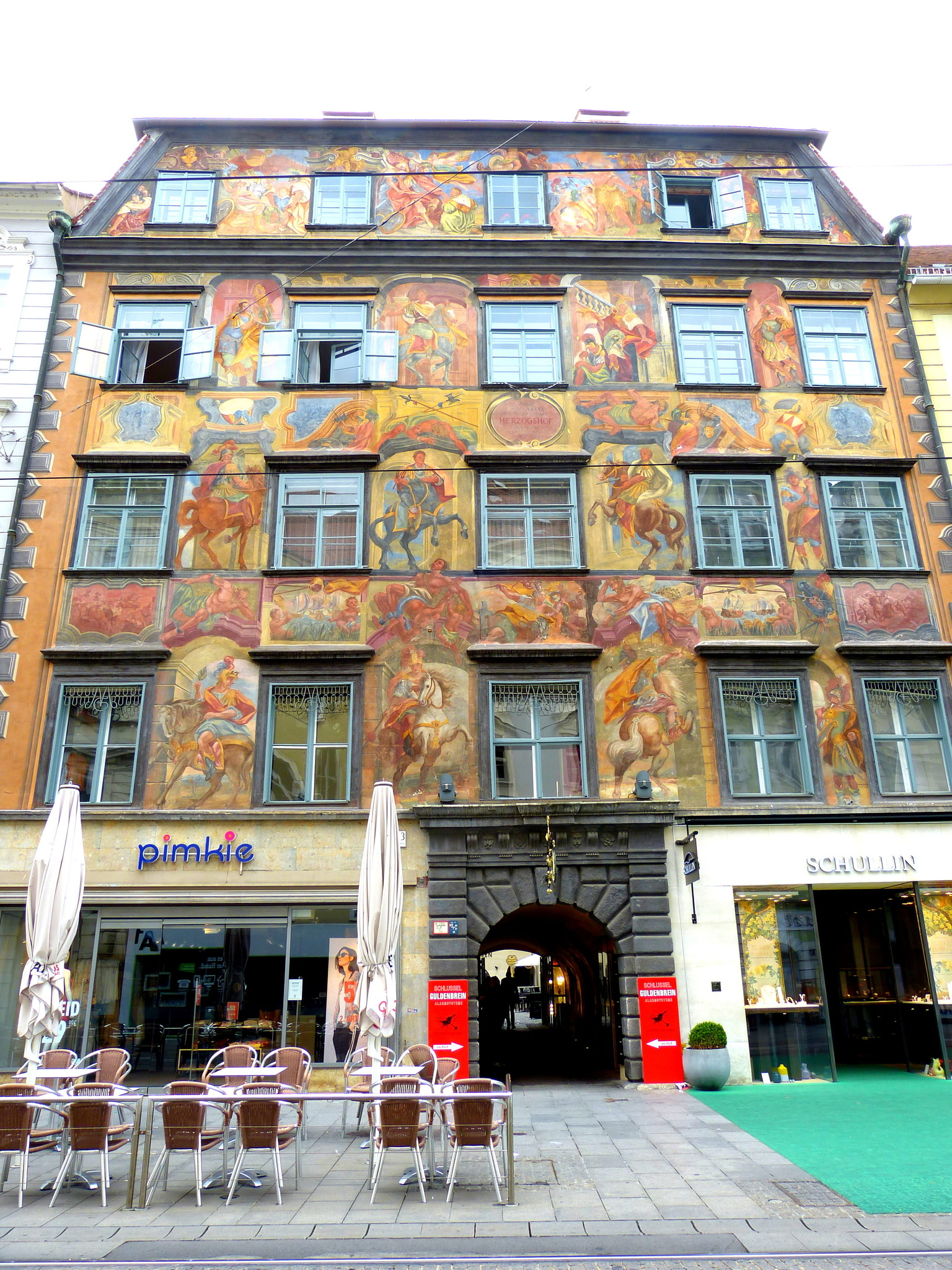 Sehr Alles rund um den Denkmalschutz: So setzt sich Graz ein Denkmal - Graz GY12