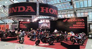 Motorrad Messe im Design Center Linz.