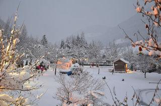 Am See herrscht zur Weihnachtszeit eine besondere Stimmung.