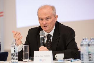 """Peter Thirring, Generaldirektor der Donau Versicherung: """"Die Frage der Naturgefahren gehört unbedingt gelöst."""""""