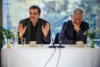 Florian Klenk und Florian Scheuba