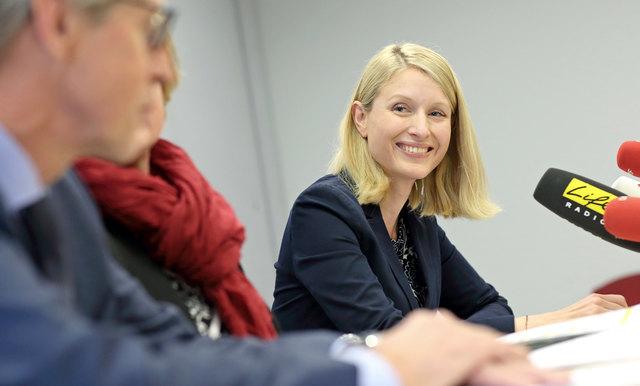 """""""Wir wollen mit dem neuen Budget 2018 keine neuen Schulden mehr machen. Denn es sind schließlich immer unsere Kinder, die unsere Schulden zurückzahlen müssen"""", so Bildungslandesrätin Christine Haberlander (ÖVP)."""