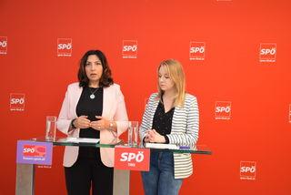 Selma Yildirim (l.) und Elisabeth Fleischanderl.