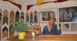 In ihrem neuen Geschäft in der Fuchsthallergasse 4: Maria Koinig gibt allem einen völlig neuen Rahmen.