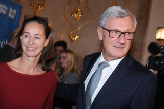 ÖVP-Kandidat Vizebgm. Harald Preuner mit seiner Frau