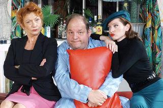 Elisabeth Osterberger, Gerald Pichowetz und Roswitha Straka in »Ein Schluck zu viel«
