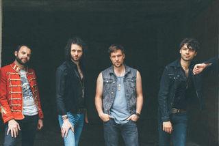 The Weight sind nun mit ihrem ersten gleichnamigen Album auf Tour. (vl.n.r. - Michael, Tobias, Andreas, Patrick)