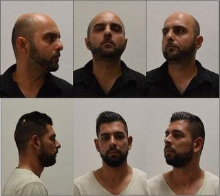 Diese beiden Männer stehen unter Verdacht, mehrere Raubüberfälle begangen zu haben.