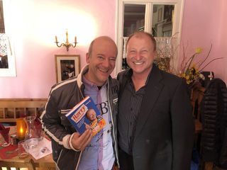 Harry Prünster und Andy Lee Lang (li.).