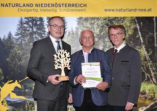 LR Pernkopf mit K.H. Aschbacher und B. Lötsch.