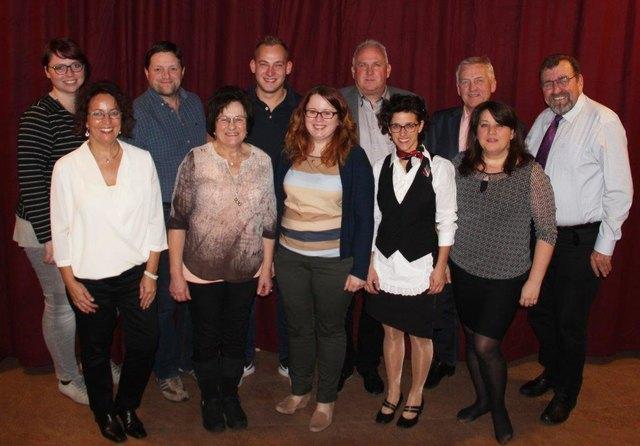 Die Theatergruppe Enzenkirchen probt bereits fleißig für die Premiere ihres neuen Theaterstücks.