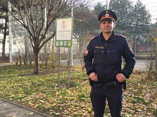 Wieder Ruhe im Lichtentaler Park: Sicherheitskoordinator Daniel Zipfl kann über eine Erfolgsmeldung berichten.