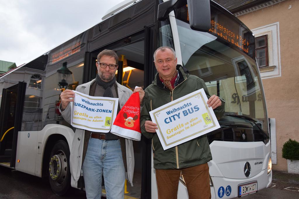 Mödlinger Advent Citybus Und Kurzparkzone Am Samstag Gratis Mödling