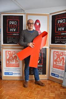 Günther Nagele, Geschäftsführer der Aidshilfe